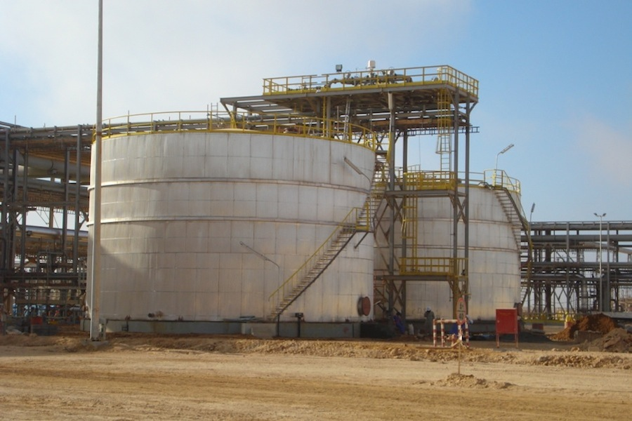 Construction Gas Tank : Oil gas gt engineering construction the dodsal group